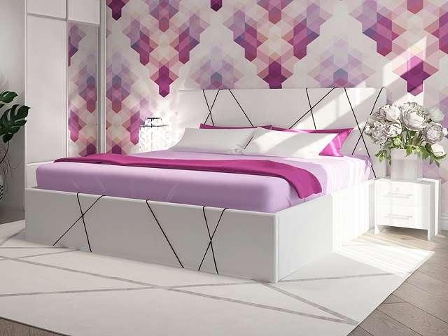 Кровать Roza (Роза) с подъемным механизмом (Райтон)