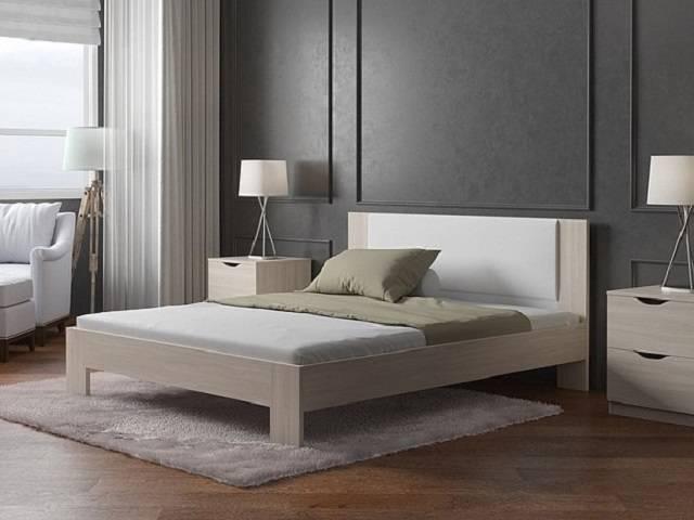 """Кровать """"Soft 2"""" (Софт 2) ЛДСП с основанием (Орматек)"""