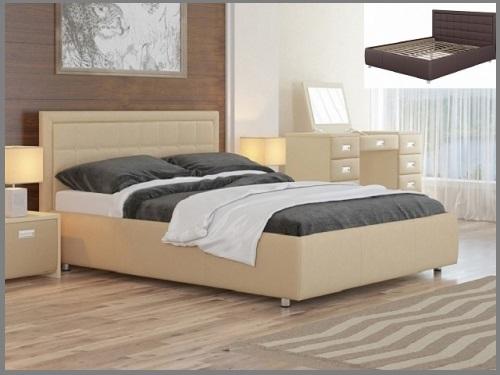 """Кровать """"Veda 2"""" с основанием (Орматек)"""