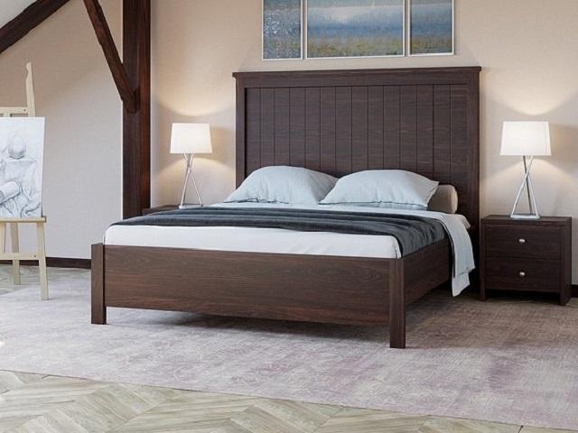 Кровать Woodex двуспальная массив сосны (Райтон)