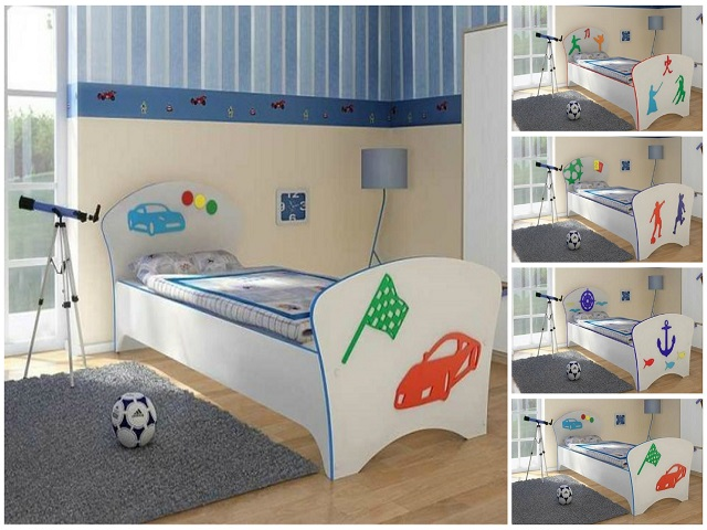 Детская кровать Соната Kids для мальчиков(Орматек)