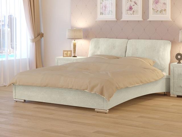 """Двуспальная кровать """"Nuvola 4"""" (2 подушки)""""  (Нувола-4) без основания (Райтон)"""