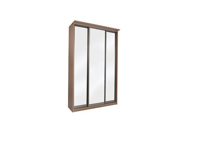 Шкаф-купе 3-х дверный Элит (три зеркала) (Орматек)