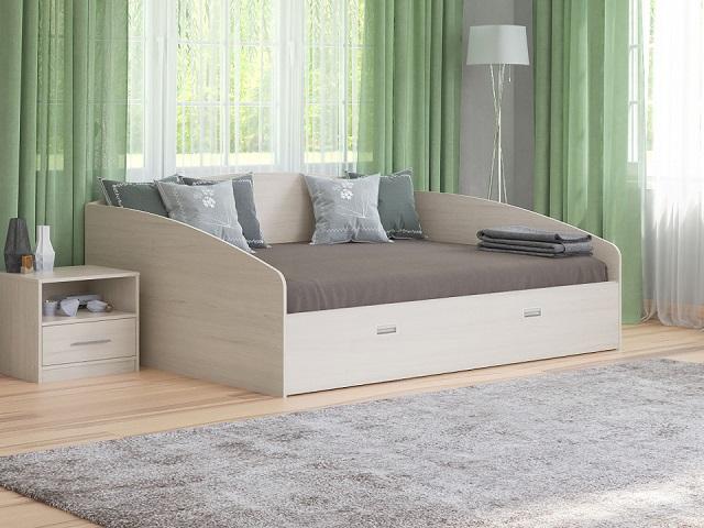 Кровать Этюд Софа Плюс с основанием и выдвижным ящиком (Орматек)