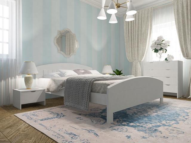 Кровать Vesna Line 1 (Весна 1) с основанием из массива сосны (Орматек)