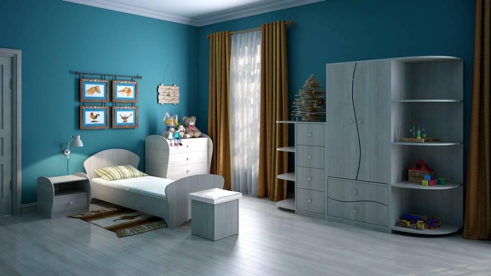 Спальня детская Соната Junior (Соната Джуниор) (Орматек)