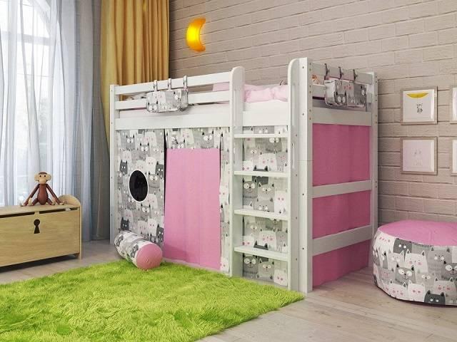 Детская кровать Отто NEW-5 (Райтон)