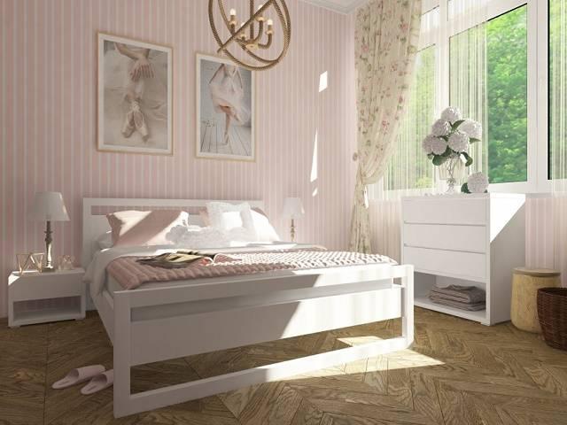Кровать Квебек массив карельской сосны (Орматек)
