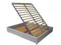 Кроватные блоки с бельевым ящиком и обшитыми царгами (широкие ламели)