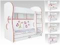 Детская двухъярусная кровать Cоната Kids для девочек (Орматек)