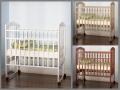 Детская кровать Золушка на колесиках (Массив Березы) (Орматек)