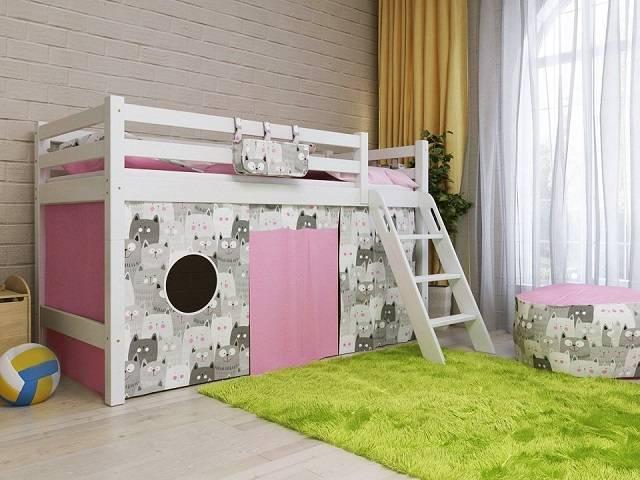 Детская кровать Отто NEW-12 (Райтон)