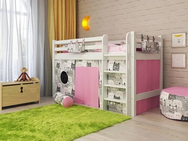 Детская кровать Отто NEW-11 (Райтон)