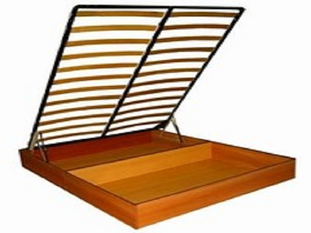 Бельевой ящик с подъемным механизмом