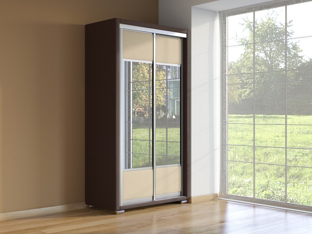 Шкаф Orma Soft 2 (2 зеркала) 2-х дверный (Райтон)