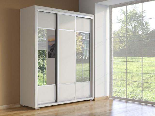 Шкаф Orma Soft 2 (два зеркала) 3-х дверный (Райтон)