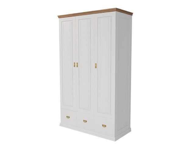 Шкаф 3х дв. Olivia массив сосна (Райтон)
