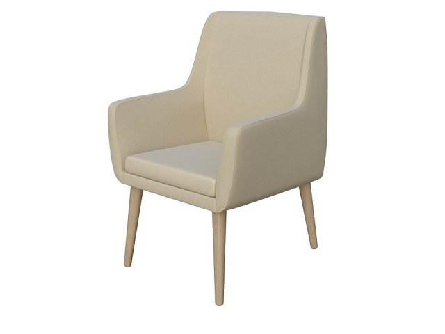 Кресло Lagom Side (Лагом Сид) Ткань/Дерево (Райтон)