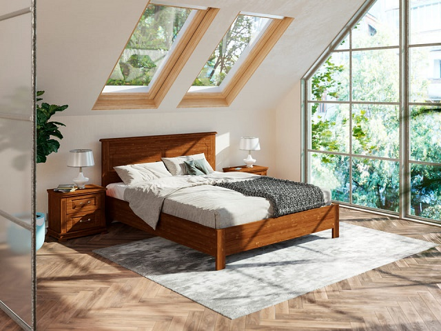 Кровать Amati-тахта (Амати-тахта) с подъемным механизмом, массив сосна (Райтон)