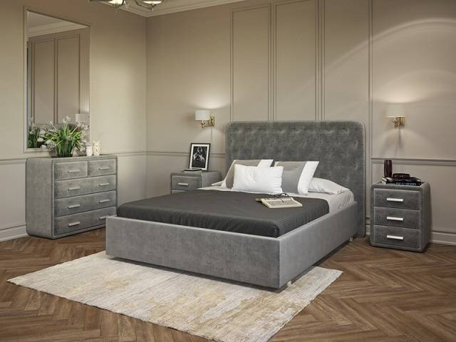 Кровать Classic 3 (без основания) (Орматек)