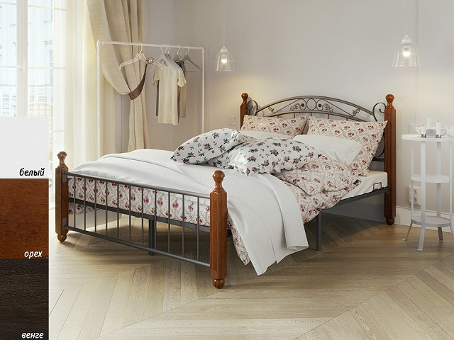Комбинированная кровать Garda 5R двуспальная (с основанием) (Орматек)