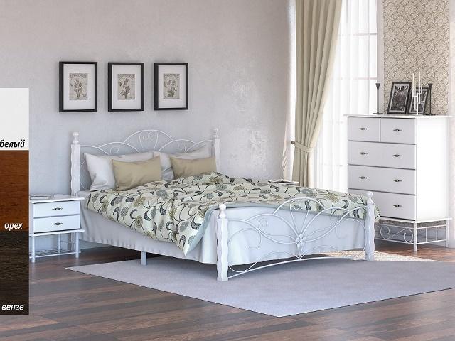 Кровать Garda 11R (Гарда 11Р)  со встроенным основанием (Райтон)