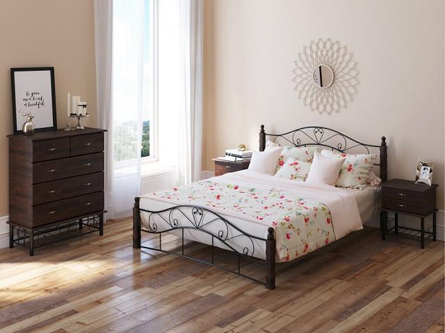 Кровать Garda 9R (Гарда 9Р) со встроенным  основанием (Райтон)