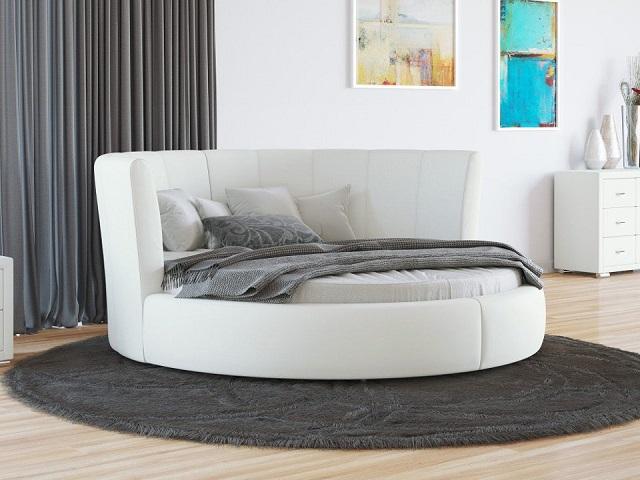Круглая кровать Luna (Луна) с основанием (Орматек)