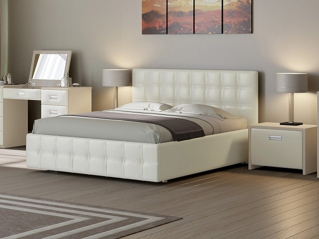 Кровать Life Box 3 двуспальная, с боковым подъемным механизмом (Райтон)