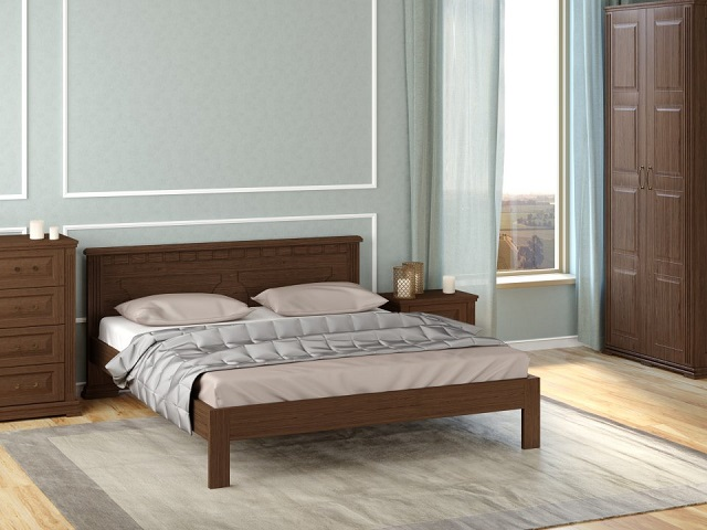 Кровать Milena-тахта ( основанием) массив сосна (Райтон)