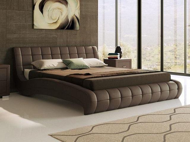 Кровать Nuvola 1 двуспальная, без основания (Райтон)