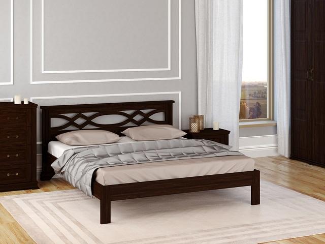 Кровать Nika-тахта  (Ника-тахта) с основанием, массив сосна (Райтон)
