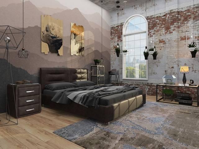 Кровать Nuvola-8 (без основания) (Райтон)