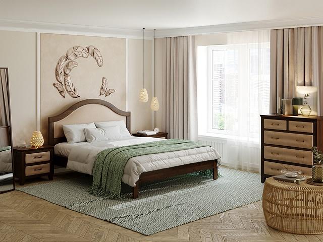 Кровать Ontario (Онтарио) с основанием (Райтон)