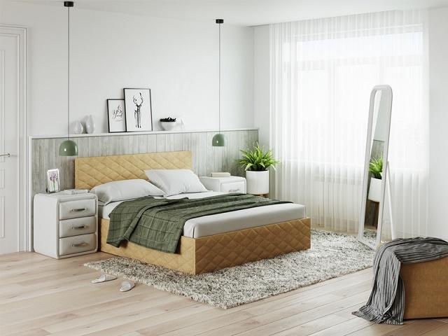 Кровать Quadro (Квадро) без основания (Райтон)