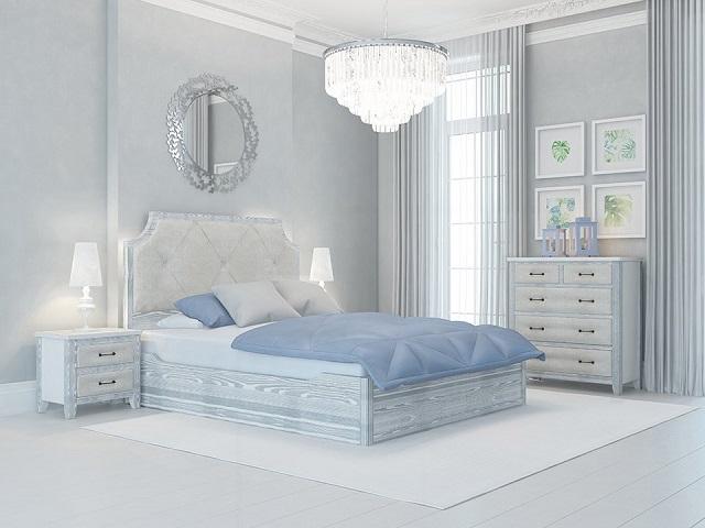 Комбинированная кровать Richard Antic двуспальная (с подъемным механизмом) массив сосна (Райтон)