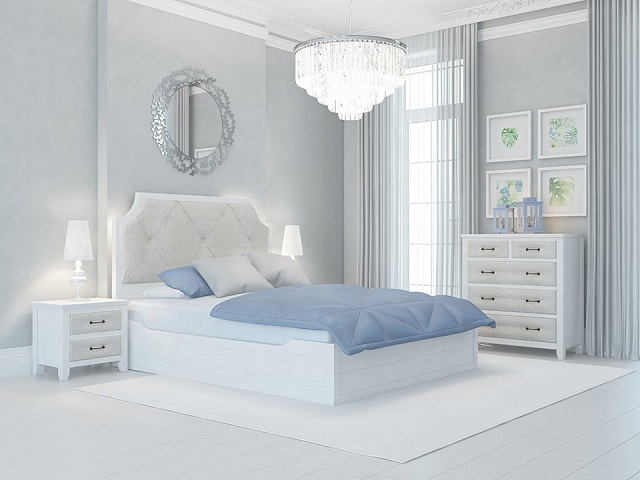 Комбинированная кровать Richard двуспальная (с подъемным механизмом) массив сосна (Райтон)