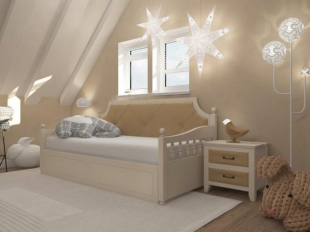 Комбинированная кровать-софа Richard (Ричард-софа) с основанием, ткань/массив сосна  (Райтон)
