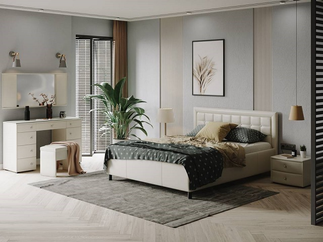 Кровать Veda 2 (Веда 2) со встроенным основанием (Орматек)
