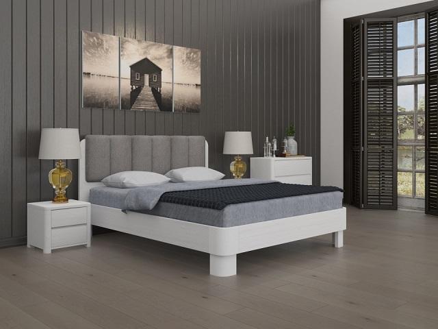 Кровать Wood Home 2 (Вуд хом 2)  (с основанием) массив сосна (Орматек)