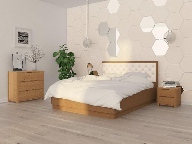 Кровать Wood Home 3 (Вуд Хом) (с подъемным механизмом) массив сосна (Орматек)