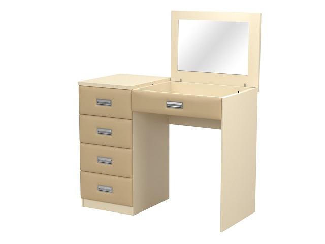 Туалетный стол Como/Ve с зеркалом, левое или правое, (4 ящика) (Орматек)