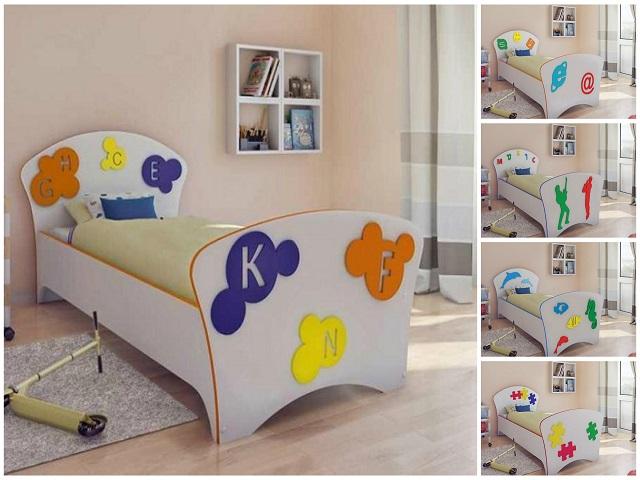 Кровать Соната Kids (для мальчиков и девочек) (Орматек)