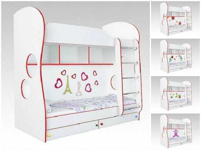 Кровать двухъярусная Cоната Kids для девочек (Орматек)