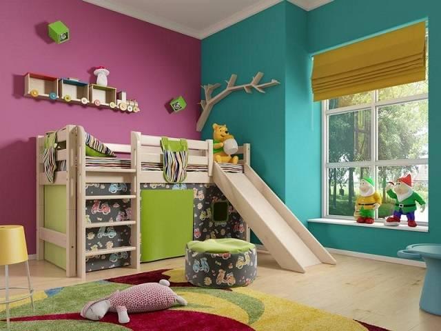 Детская кровать Отто 13 (Райтон)