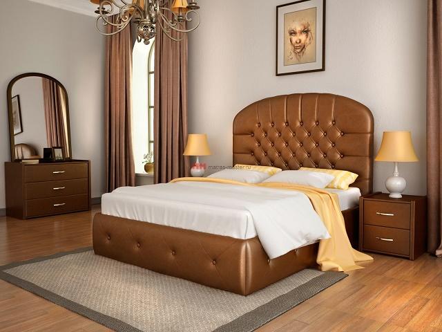 Кровать Венеция (с подъемным механизмом) (Лонакс)