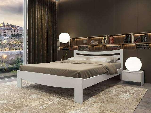 Кровать Vesna Line 2 (с основанием) массив сосна (Орматек)