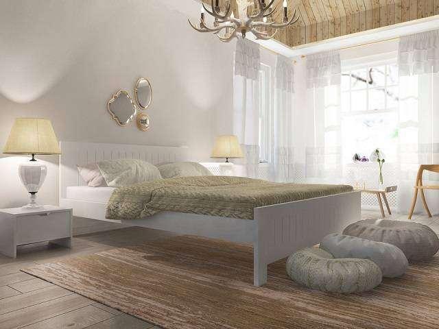 Кровать Vesna Line 3 (с основанием) массив сосна (Орматек)