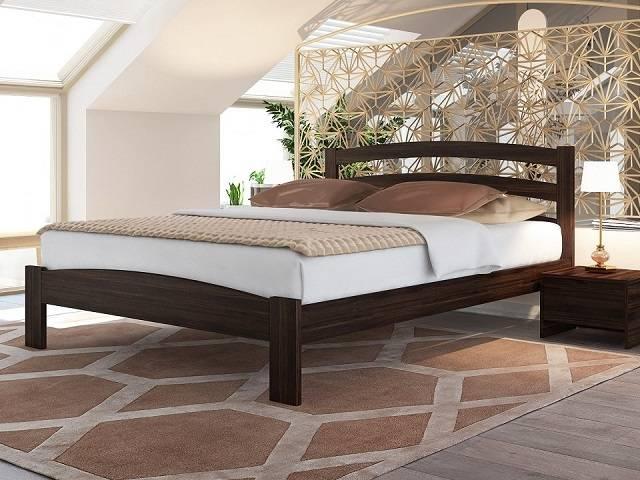 Кровать Веста 2-тахта-R (с основанием) массив сосна (Райтон)
