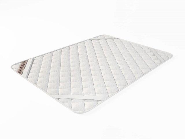 Наматрасник стеганый белый на резинках (Виртуоз)